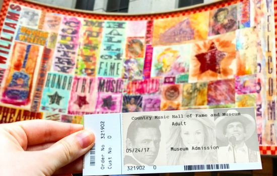Tickets for the Country Music Hall of Fame