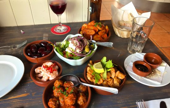 Cornish tapas