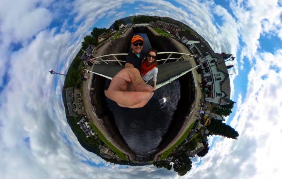 360 at Neptune's Staircase