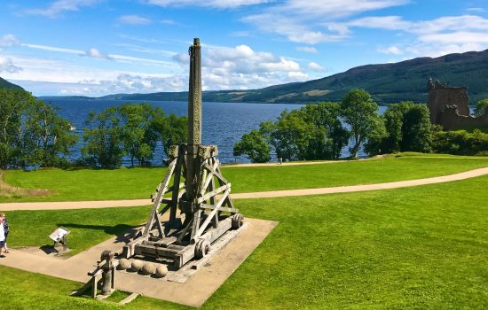 Trebuchet at Urquhart Castle