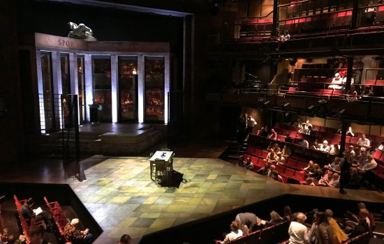Titus Andronicus at The Royal Shakespeare Company, Stratford upon Avon